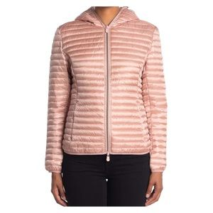 Save The Duck Iris Pink Puffer Coat Packable